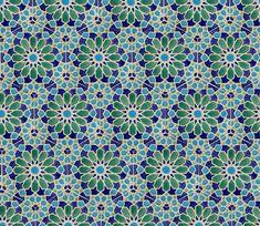 Moroccan Tiles – Bathroom Tiles – Hand Painted Tiles – Patio Tiles – Blue and Green Tiles – Kitchen Backsplash Tiles – Decorative Stoneware - Modern Moroccan Tile Bathroom, Bathroom Plants, Moroccan Tiles, Moroccan Tile Backsplash, Moroccan Bedroom, Moroccan Interiors, Bathroom Ideas, Morrocan Tiles Kitchen, Morrocan Decor
