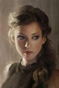 Fantasy Portraits, Character Portraits, Character Art, Female Character Inspiration, Fantasy Inspiration, Fantasy Characters, Female Characters, Dibujos Pin Up, Digital Art Girl