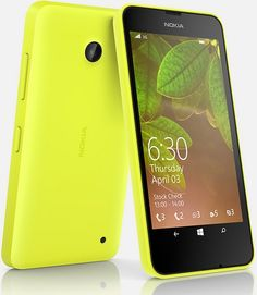 08/07/15 - Nokia Lumia 630 Yellow released on EE 4G Upgrade contract deals