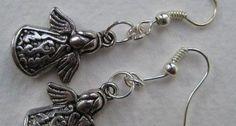 Tibetan Silver Angel Earrings £3.99