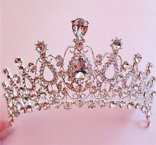 victoria vintage princess Wedding bride bridal tiara Headpiece Crown Headband