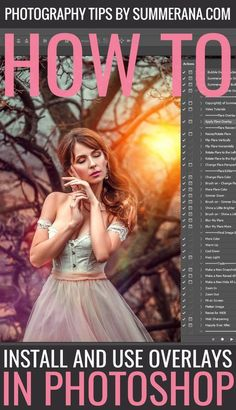 When you download a new set of Photoshop overlays to use in your images, you will no doubt be excited to get started. But if you've never used overlays before, it may seem like more of a challenge than you expected. Where do you start? How do you use them? Here we'll give an in-depth look into getting started with Photoshop overlays, and beyond.