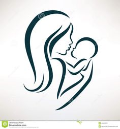 mom and baby logo - Google Search
