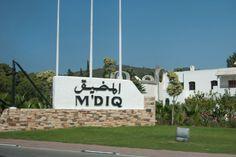 Mdiq ou Rincon , une petite ville au nord du Maroc , très propre et tres belle