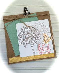 """""""Best Thoughts"""" - Stampin' Up! (new catalog 2015-2016)"""