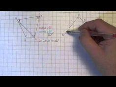 VWO1 H3_10 hoeken berekenen   hoekensom vierhoek - YouTube