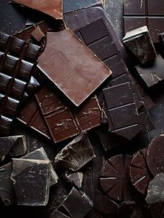 Chocolate, chocolate, chocolate...although we humans love it, its really bad for our dogs.