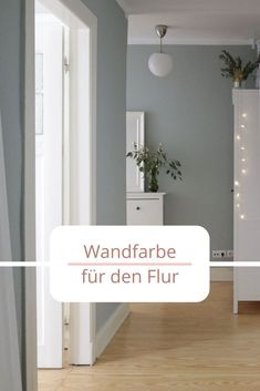 Welche ist die beste Wandfarbe im Flur? – WOHNKLAMOTTE The corridor is the first room in which we receive our guests. With us it is time for a new wall color in the hallway. Best Wall Colors, Hallway Wall Colors, Wall Colours, Ramadan Decoration, Living Room Decor, Living Spaces, Wall Spaces, Terrasse Design, L Wallpaper