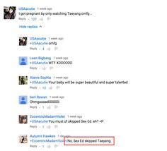 "So, I was watching ""BIGBANG - '뱅뱅뱅 (BANG BANG BANG)' 0604 M COUNTDOWN"" when I saw this fantastic reply to someone's comment LOL"