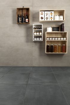 Ceramiche Caesar   ONE, porcelain stoneware with terracotta and cement effect