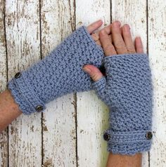 On SALE Crocheted Fingerless Gloves Light by CreativeDragonfly