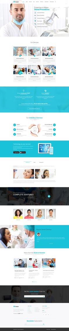#Dental WordPress theme compiled with the captivating design and optimal features for creating the dental Surgeon and Cosmetic Clinic websites.