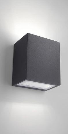 Philips Luminaire Extérieur Applique Murale Ledino Noire LED Intégrée: Amazon.fr: Luminaires et Eclairage