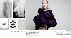 PORTFOLIO | Graduation | Fashion & Design | 3D Design | Floral Silhouettes | www.ninanin.com