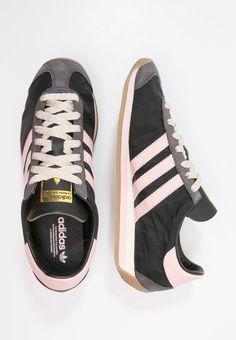 Baskets adidas Originals COUNTRY OG - Baskets basses - core black/vapour pink noir: 89,95 € chez Zalando (au 9/10/16). Livraison et retours gratuits et service client gratuit au 0800 797 34.