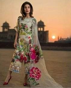ac4092265d How stunning are these colours Indian Dresses, Pakistani Bridal Dresses,  Pakistani Wedding Outfits,