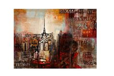 Multi Color Downtown Nights Wall Art