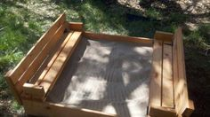 Sand box with benches | Do It Yourself Home Projects from Ana White