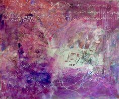 "Isabella Senger artwork:  ""Summertime"" (100x80) Collage in mixed Media Mixed media art"