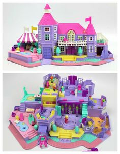 Polly Pocket Bluebird Antigo 2000 Jungle Jet Playhouse