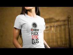 Get the 'Fuck Sync' shirt on Save The DJ