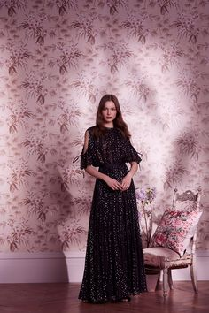 FREE Express/Aramex Shipping Runway Fashion Ultra Long Off the Shoulder Dress Women Floor Length Bling Mesh Dress Mesh Dress, Tulle Dress, Lace Dress, Evening Dresses, Summer Dresses, Formal Dresses, Needle And Thread Dresses, Maxi Styles, Royalty