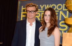 Kristen Stewart and Simon Baker at Cecile B. Demille event for Jodie Foster