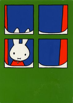 miffy by Dick Bruna Winter Illustration, Children's Book Illustration, Book Cover Design, Book Design, Rabbit Drawing, Miffy, Dutch Artists, Childrens Books, Book Art