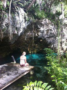 Grand Cenote near Tulum, Mexico