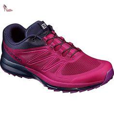 Salomon Sense Pro 2 W, Sneakers trail-running femme - rouge - Rouge (