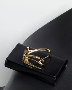 Zaha Hadid design brings out sculpted glove clutch for Perrin Paris