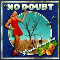"""Led by the infectious, pseudo- ew wave single """"Just a Girl,"""" No Doubt's major-label debut, Tragic Kingdom, straddles the line between '90s punk, hird-wave ska, and pop sensibility. The record was produced by Matthew Wilder, the auteur behind """"Break My Stride"""" -- a clever mainstream co-opting of  ew wave quirkiness, and, as such, an ideal pairing. Wilder kept his production lean and accessible, accentuating No Doubt's appealing mix of  ew wave melodicism, post-grunge  ock, and West Coast…"""