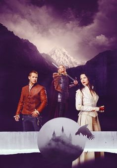 OUAT Prince Charming, Emma Swan and Snow White