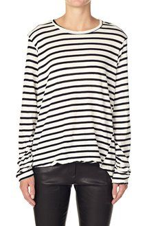 BASSIKE french seam t.shirt with tail
