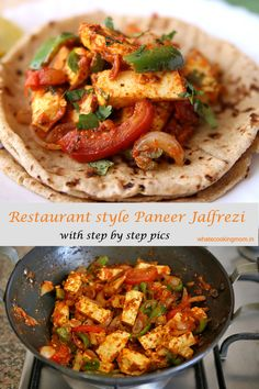 Paneer Jalfrezi - whats cooking mom Best Paneer Recipes, Indian Food Recipes, Healthy Indian Foods, Paneer Curry Recipes, Easy Cooking, Cooking Recipes, Veg Food Recipes, Tasty Vegetarian Recipes, Healthy Recipes