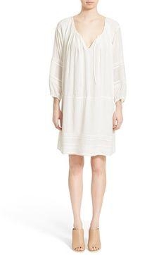 VINCE Lace Detail Tunic Dress. #vince #cloth #