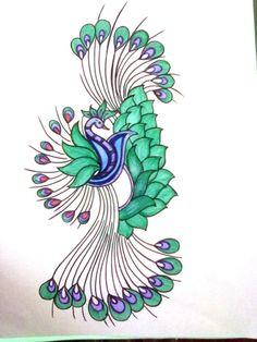 Peacock home decor ideas - Paint For Fabric Fabric Painting 768x1024 Fabric Painting Designs