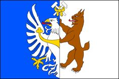 Flag of Kladno  Czech Republic  Central Bohemian Region