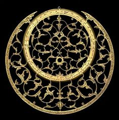 Planispheric Astrolabe (and also below) from Persia, 1675/6 (A.H. 1086). Made by Muhammad Amin