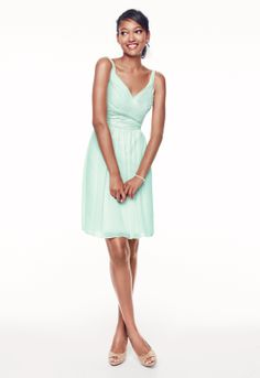 Pretty spring bridesmaid dresses from David's Bridal