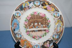 Last Supper Collector Plate by Castawayacres on Etsy