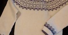 Då hadd eg klar genseren til luen eg designa forrige uken - den kalte eg for babsys hjertelue og ergo blir jo dette babsys hjerteg... Knitting, Blouse, Long Sleeve, Sleeves, Mens Tops, T Shirt, Design, Women, Fashion