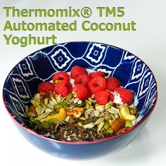 5 Ingredient TM5 Automated Coconut Yoghurt for the Thermomix®