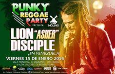 "El Molino presenta: ""Lion ""Asher"" Disciple"" http://crestametalica.com/events/el-molino-presenta-lion-asher-disciple/ vía @crestametalica"