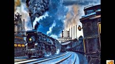 Christian Anders singt eines seiner erfolgreichsten Lieder..... Bilder aus der amerikanischen Pionierzeit der Eisenbahn