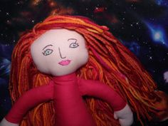 Come Along Pond The  Doctor's Companion Rag Doll by SockPunky, $25.00