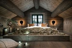 When decorating your rustic bedroom there are a lot of questions to answer. One of the most important is- how rustic do you want it to look. Rustic style in … Stylish Bedroom, Cozy Bedroom, Bedroom Decor, Bedroom Ideas, Pretty Bedroom, Bedroom Girls, Bedroom Images, White Bedroom, Master Bedroom