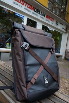 Chrome Bravo 2.0 | Bike Laptop Backpack | java brown | 32 Liter