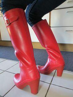 Hunter Fulbrooke (1) | Freya's world of high heel rubber boots | Flickr