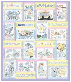 anita Nursery Rhyme Special Edition Quilt - Google Search